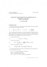 Exposé Bourbaki 953 : Explosion pour l'équation de Schrödinger au régime du «log log»