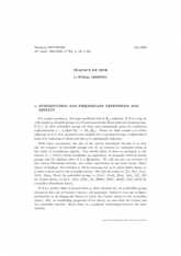Exposé Bourbaki 964 : Travaux de Zink