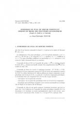 Exposé Bourbaki 966 : Ensembles de Julia de mesure positive et disques de Siegel des polynômes quadratiques