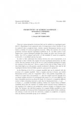Exposé Bourbaki 954 : Projectivité des variétés kählériennes – le problème de Kodaira