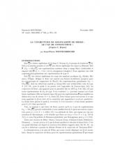 Exposé Bourbaki 956 : La conjecture de modularité de Serre: le cas de conducteur$1$