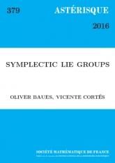 Groupes de Lie symplectiques.