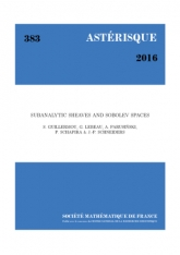 Faisceaux sous-analytiques et espaces de Sobolev