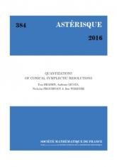 Quantifications des résolutions symplectiques coniques