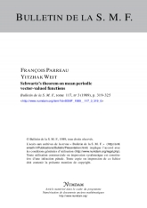 Schwartz's theorem on mean periodic vector-valued functions