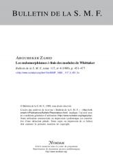 Les endomorphismes $\mathfrak {k}$-finis des modules de Whittaker