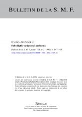 Subelliptic variational problems