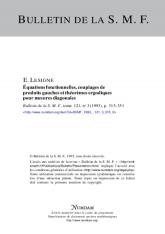 Équations fonctionnelles, couplages de produits gauches et théorèmes ergodiques pour mesures diagonales