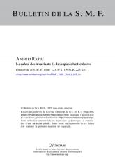 Le calcul des invariants $\theta _p$ des espaces lenticulaires