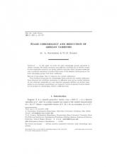 Cohomologie étale et réduction des variétés abéliennes
