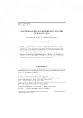 Cohomologie de Hochschild des graphes deKontsevich