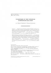 Symétries de l'équation de Schrödinger non linéaire