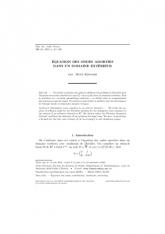Équation des ondes amorties dansundomaine extérieur