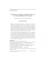 Platitude du module universel pour $\mathrm {GL}_3$ en caractéristique non banale