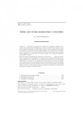 Capacités hamiltoniennes intérieure et extérieure