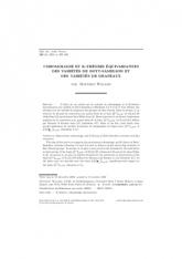Cohomologie et K-théorie équivariantes desvariétés de Bott-Samelson et desvariétés de drapeaux