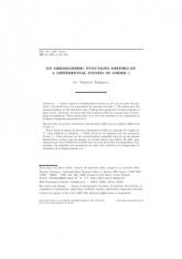 Sur les germes de fonctions méromorphes définis par un système différentiel d'ordre $1$