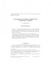 Inversion de Kloosterman-Fourier pour les matrices symétriques