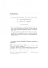 Sur la non-prolongabilité des figures de Hartogs dans les variétés complexes