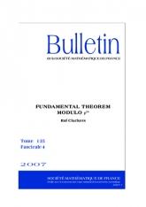 Théorème fondamental des espaces vectoriels préhomogènes modulo $p^m$. Avec un appendice par F. Sato