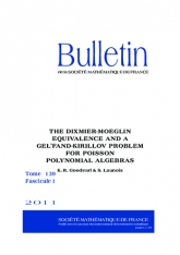 L'équivalence de Dixmier-Moeglin et un analogue du problème de Gel'fand-Kirillov pour certaines algèbres de Poisson polynômiales