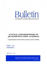 Sur les endomorphismes naturels des algèbres de quasi-shuffle