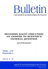 Décoder l'induction de Rauzy: Une réponse à la question générale de Bufetov