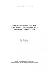 Inégalités de Strichartz pour l'équation de Schrödinger à coefficients variables