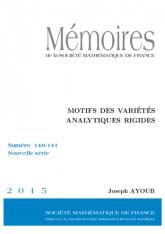 Motifs des variétés analytiques rigides