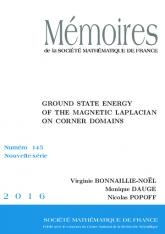 Niveau fondamental du laplacien magnétique dans des domaines à coins