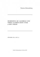 Algèbres de Lie semi-simples et leur classification sur les corps p-adiques
