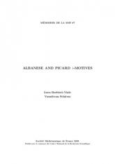 $1$-motifs d'Albanese et de Picard