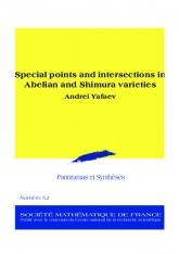 Points spéciaux et intersections dans les variétés abéliennes et les variétés de Shimura