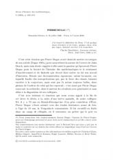 Notice sur Pierre Dugac