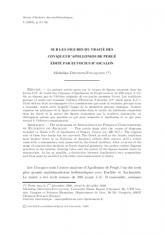 Sur les figures du traité des Coniques d'Apollonios de Pergé édité par Eutocius d'Ascalon