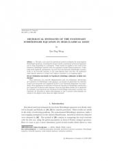 Estimations microlocales de l'équation de Schrödinger stationnaire en limite semi- ique