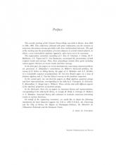 Algèbre non commutative, groupes quantiques et invariants Septième contact Franco-Belge, Reims, Juin 1995