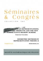 Modules de représentations linéaires, produits symétriques et le schéma non-commutatif de Hilbert