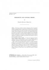 Semigroupes et théorie de contrôle