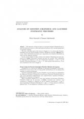 Analyse des Processus Stochastiques d'Ornstein-Uhlenbeck et de Laguerre