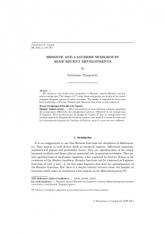 Semigroupes d'Hermite et de Laguerre Quelques résultats récents