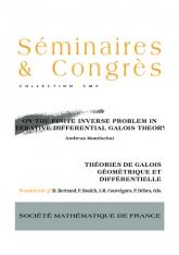 Sur le problème inverse fini en théorie de Galois des équations différentielles itérées