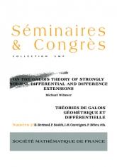 Sur la théorie de Galois des extensions différentielles et aux différences fortement normales