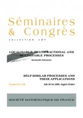 Processus localisables, multifractionnaires et multistables