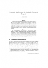 Schematic Algebras and the Auslander-Gorenstein Property
