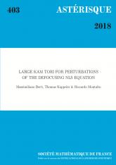 Large KAM tori for perturbations  of the defocusing NLS equation