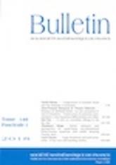 KVBU014601 BULLETIN FASCICULE 146 TOME 1