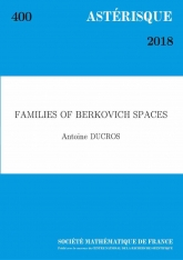 Familles d'espaces de Berkovich