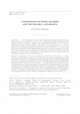 Congruences de formes modulaires et λ-invariants d'Iwasawa