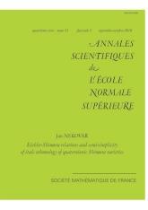 Les relations d'Eichler-Shimura et la semi-simplicité de la cohomologie étale des variétés de Shimura quaternioniques